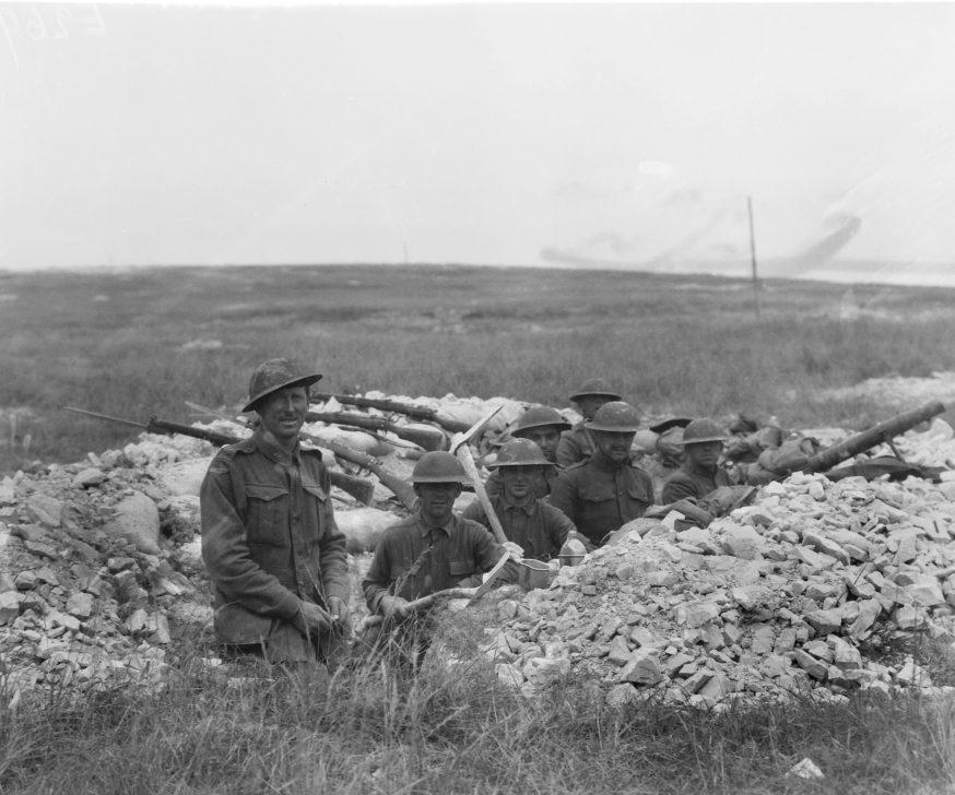 Aus-US troops at Hamel 040718