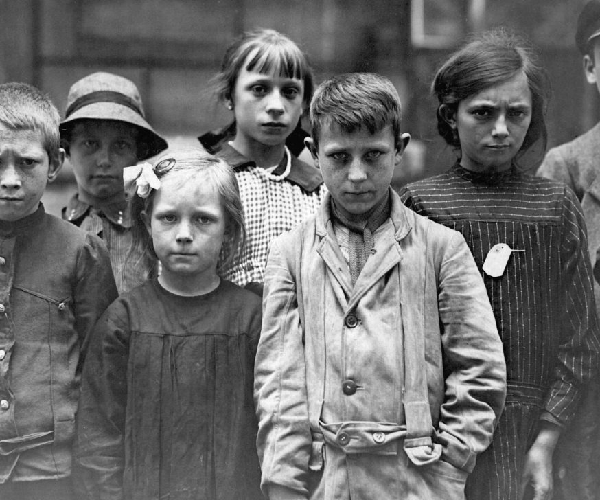 French refugee children during the First World War